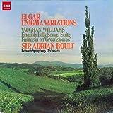 エルガー:エニグマ変奏曲 ヴォーン・ウィリアムズ:グリーンスリーヴズの主題による変奏曲