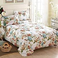 綿印刷Bedspreads / Singleコットンダブルシートで秋と冬 160x230cm(63x91inch) OPLMBGGT