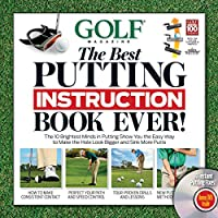 GOLF The Best Putting Instruction Book Ever! (Book & DVD)
