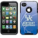 Coveroo Kentucky Basketball Design Phone Case for iPhone 4s/4 - Retail Packaging - Black [並行輸入品]