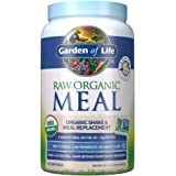 Garden of Life Raw Organic Meal Replacement Powder - Vanilla, 28 Servings, 20g Plant Based Protein Powder, Superfoods, Greens