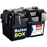 Battery Box 12V Deep Cycle Battery AGM Camping Portable Battery Box USB Port GIANTZ