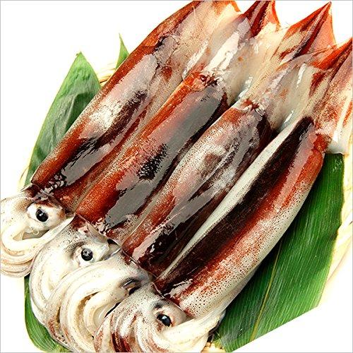 北海道産 新物 スルメイカ 2kg (生食・刺身用)