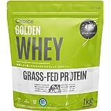 Choice GOLDEN WHEY (ゴールデンホエイ) ホエイプロテイン ストロベリー 1kg [ 人工甘味料 GMOフリー ] グラスフェッド プロテイン 国内製造