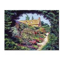 商標Fineアートdlg0360-c1419gg English Garden Stroll by David Lloyd Glover 24x32 DLG0360-C2432GG