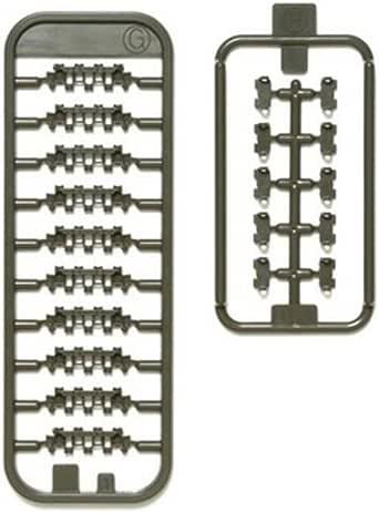 タミヤ 1/35 ディテールアップパーツシリーズ No.65 ドイツ陸軍 パンサーD型 連結式履帯セット プラモデル用パーツ 12665