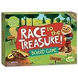 Peaceable Kingdom / Race to the Treasure! Cooperative Board Game