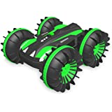 XuBa Remote Control Amphibious Car Boat Truck 4Wd 6Ch 2.4Ghz Land Water 2 In 1 Rc Toy Car Waterproof Stunt 1:18 Remote Vehicl
