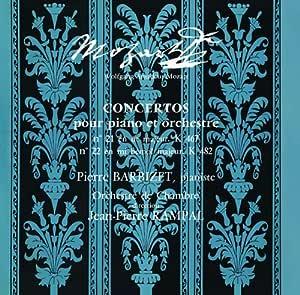 ピアノ協奏曲第21番、第22番 バルビゼ(p)ランパル&室内管弦楽団
