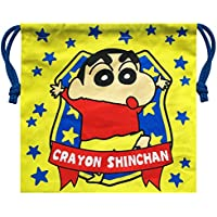 クレヨンしんちゃん 巾着 エンブレム KYKN596