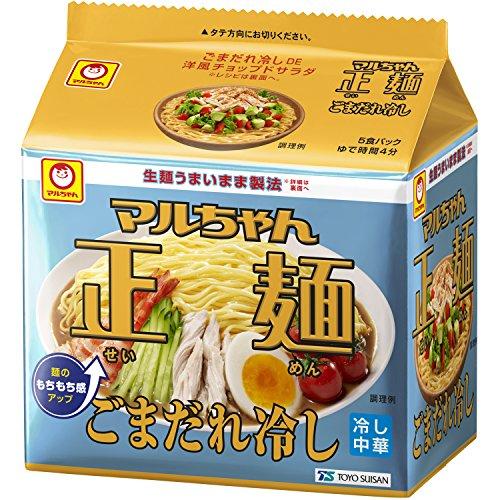 マルちゃん正麺 ごまだれ冷し 5P×6個