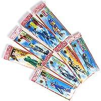 ツバメ玩具製作所 ソフトグライダー アソートセット 8種 12枚入り