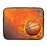 コンバース バスケットボール シューズ バスケットボール パソコン コンピューター用スリーブ タブレットケース ノートブック ノートパソコン タブレット 黒い後ろ 耐水性 15 Inch