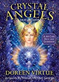 Crystal Angels Oracle Cards: A 44-Card Deck and Guidebook 画像