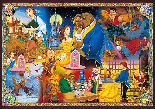 1000ピース ジグソーパズル 世界最小 美女と野獣 永遠の愛【光るパズル】(29.7x42cm)