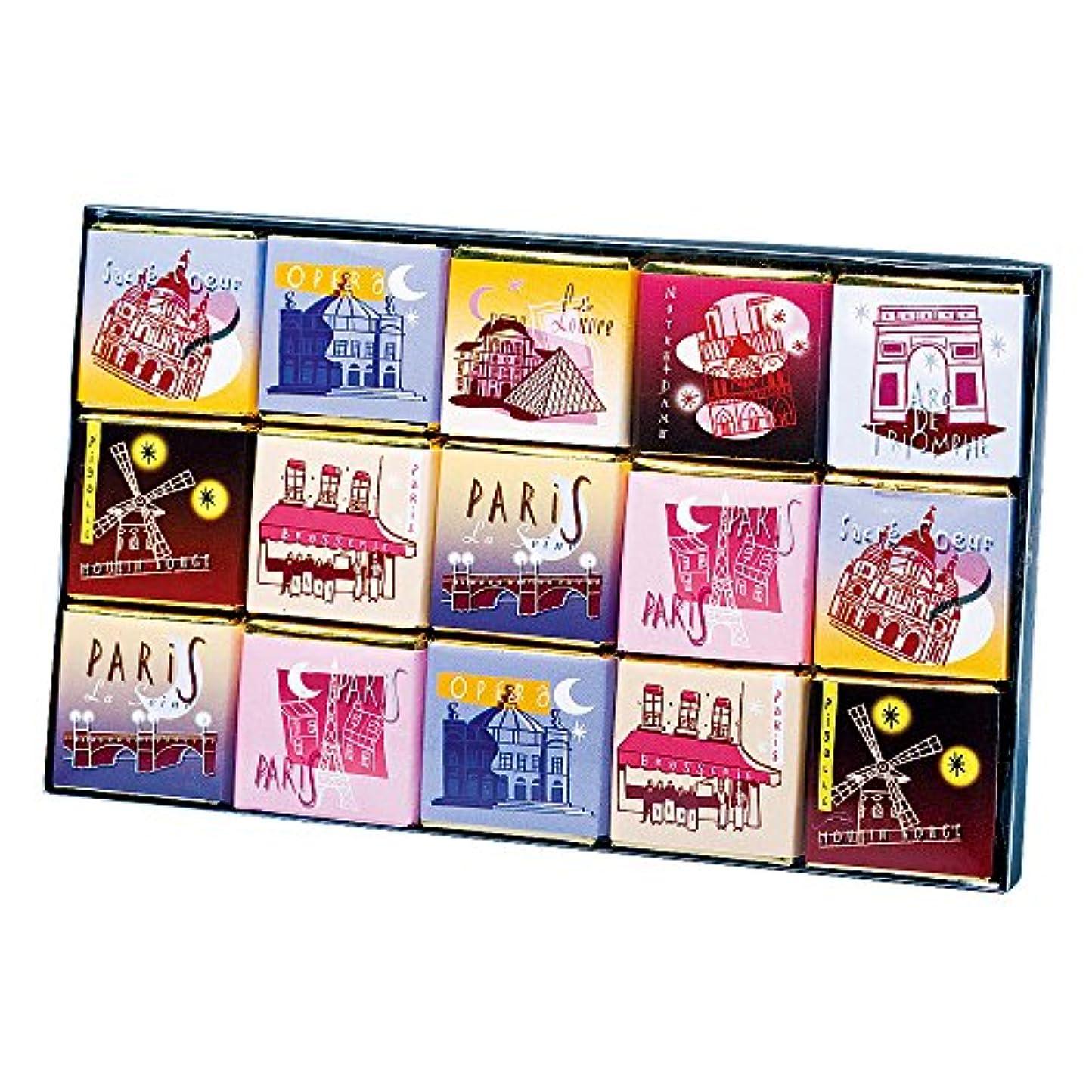 空洞ベックス気難しいフランスお土産 モンバナ パリスコレクション チョコレート 1箱