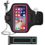 iPhone X/XS Armband, JEMACHE Water Resistant Gym Running Workout/Exercise Sport Arm Band Case for iPhone X/XS with Card...