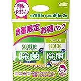 スコッティ除菌ノンアルコールタイプ 本体+つめかえ用2個パックセット企画品