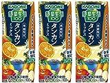 カゴメ 野菜生活100 タンカンミックス リーフパック 195ml×3本