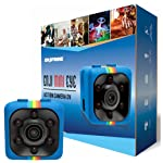 Mini Wireless Camera Cop Cam - Action Cameras for Indoor or Outdoor, Home Office or Car Video Recorder with 1080p HD...