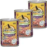 アイリスオーヤマ ドッグフード ヘルシーステップ 13歳以上用 チキン&野菜・ささみ 375g×3缶 (まとめ買い)