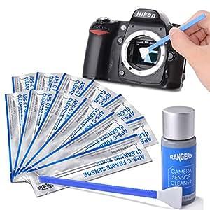 Rangers カメラクリーニング用品 12個APS-Cセンサースワブ+15mlクリーナーセット RA113