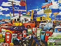 John Roy Clunkers, El Paso Truck Salvage 550 Piece Jigsaw Adult Puzzle - By Karmin International