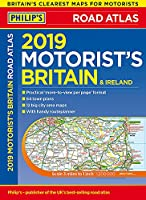 Philip's 2019 Motorist's Road Atlas Britain and Ireland A3: (Large-format paperback) (Philips Road Atlas)