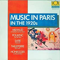 Music in Paris in the 1920s