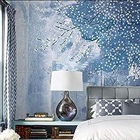 Lixiaoer カスタム3D壁紙現代の北欧抽象油絵花の装飾テレビのリビングルームの背景壁画壁覆い-350X250Cm