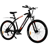 """VECOCRAFT Electric Bike 27.5"""" Trekking City eBike 100KG Capacity Electrical Adult Bicycle 36V 250W eMTB Mountain LED Headligh"""
