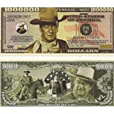 John Wayne Million Dollar Novelty Bill