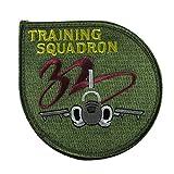 自衛隊グッズ ワッペン 浜松基地 第32教育飛行隊 パッチ ロービジ ベルクロ付