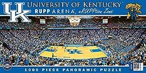 MasterPieces NCAA Kentucky Wildcats Basketball Stadium Panoramic Jigsaw Puzzle (1000-Piece) [並行輸入品]