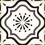 Mi Alma Black & White Collection Peel and Stick Tile Stickers 24 PC Set backsplash Tile Decals Bathroom & Kitchen Vinyl Wall