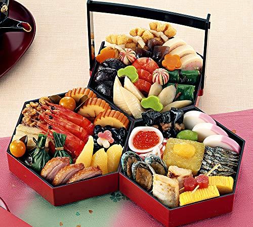(12月30日着)京菜味のむら おせち「八坂 」三段重 32品