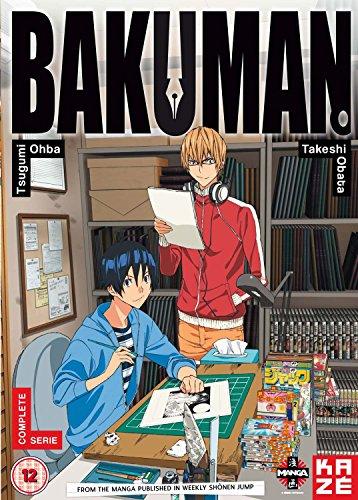バクマン。1stシリーズ コンプリート DVD-BOX (1-25話) アニメ [DVD] [Import] [PAL, 再生環境をご確認ください]