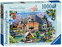 Ravensburger Country Cottage Collection No.11 - Snowdrop Cottage, 1000pc Jigaw Puzzle