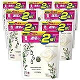 【ケース販売】さらさ 無添加 植物由来の成分入り 洗濯洗剤 ジェルボール3D 詰め替え 26個(約2倍)×8袋
