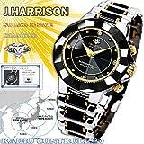 ジョンハリソン ソーラー 電波時計 メンズ 腕時計 JH-024MBB 腕時計 低価格帯ウォッチ ジョンハリソン [並行輸入品]