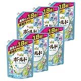 【ケース販売】 ボールド 洗濯洗剤 液体 アクアピュアクリーンの香り 詰め替え 超特大 1.26kg×6個