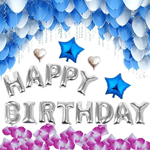 [해외]Jyoker 풍선 생일 장식 풍선 생일 서프라이즈 HAPPY BIRTHDAY 파티 장식 세트/Jyoker Balloon Birthday Decorative Balloon Birthday Surprise HAPPY BIRTHDAY Party Ornament Set
