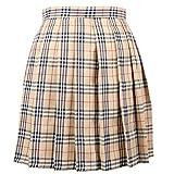 【ぴゅありぼん】大きいサイズ 3XL チェック柄 プリーツ スカート 4color 男の娘 メンズ対応サイズ TOKYO GOODS MARKET (ハウスチェック柄)