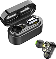 SoundPEATS Wireless Earbuds, Bluetooth 5.0 Wireless Headphones Dual Dynamic Drivers TWS Bluetooth Earphones Built in Mic...