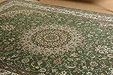 絨毯 ラグ ホットカーペットカバー グリーン ロイヤルパレス 195x250cm 3畳