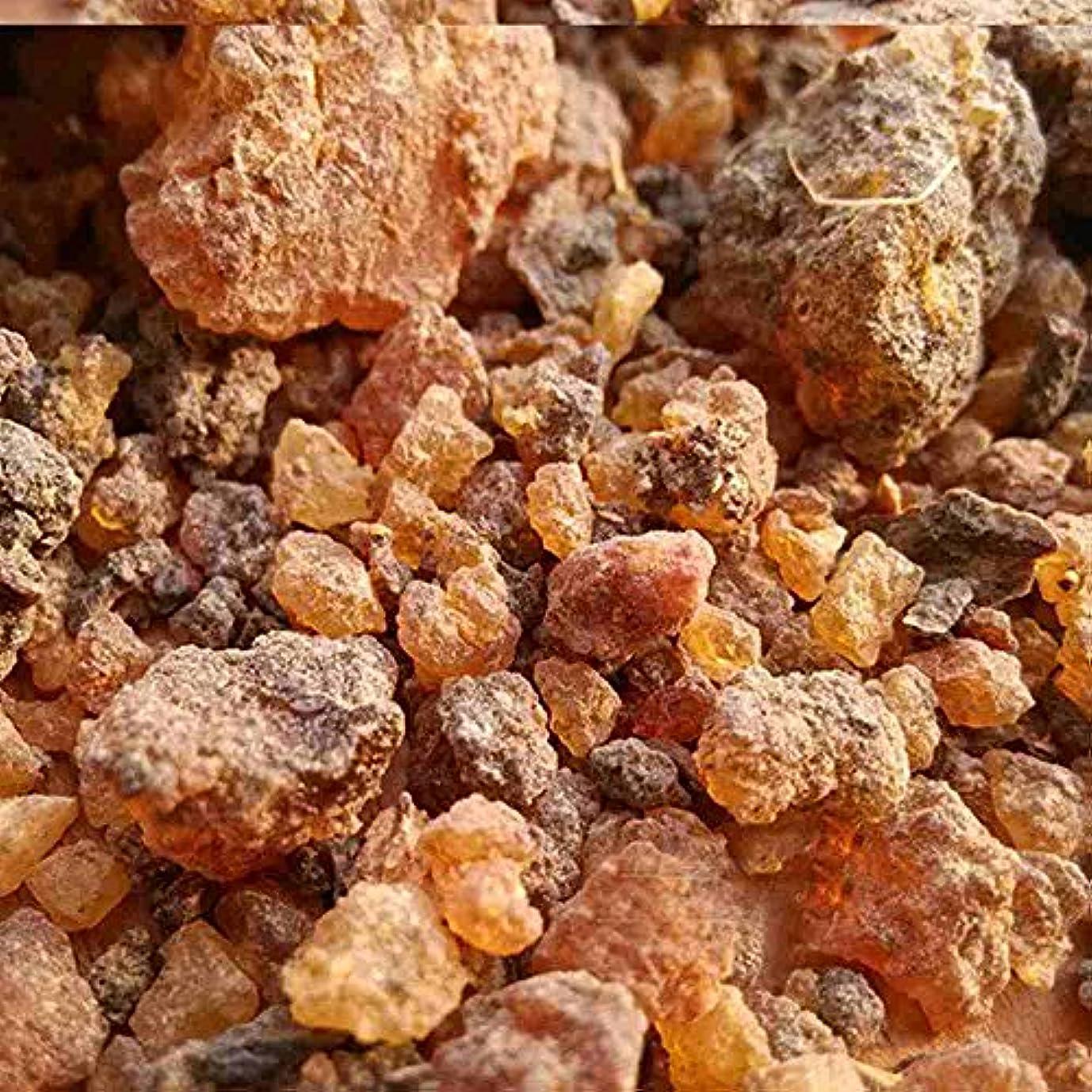 ミルラ樹脂 – 100%純オーガニック乳香樹脂 – 有機没薬 – 0.22ポンド(100 g)Kenya Myrrh Resin – Earthwise Aromatics