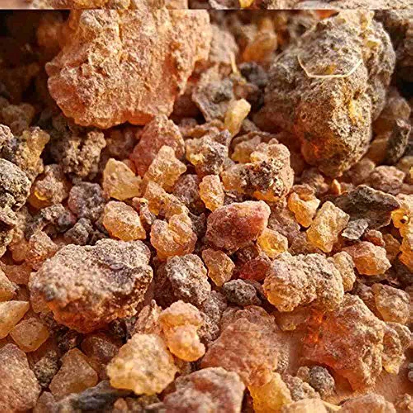 工業用不愉快優勢ミルラ樹脂 – 100%純オーガニック乳香樹脂 – 有機没薬 – 0.22ポンド(100 g)Kenya Myrrh Resin – Earthwise Aromatics