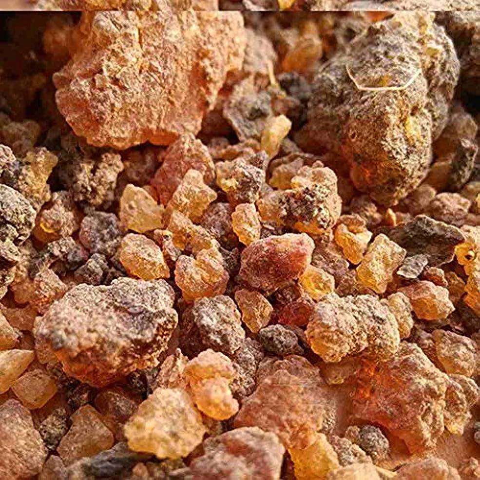 誰も砂神経ミルラ樹脂 – 100%純オーガニック乳香樹脂 – 有機没薬 – 0.22ポンド(100 g)Kenya Myrrh Resin – Earthwise Aromatics