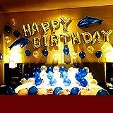 誕生日 飾り付け バルーン 大容量 特大 バースデー アルミ 飾り 装飾セット 特大イルカ 誕生日の飾りセット バースデーデコレーションセット 誕生日バルーン バースデーパーティー 記念撮影に