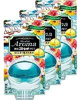 【まとめ買い】液体ブルーレットおくだけアロマ トイレタンク芳香洗浄剤 本体 リフレッシュアロマの香り 70ml×3個